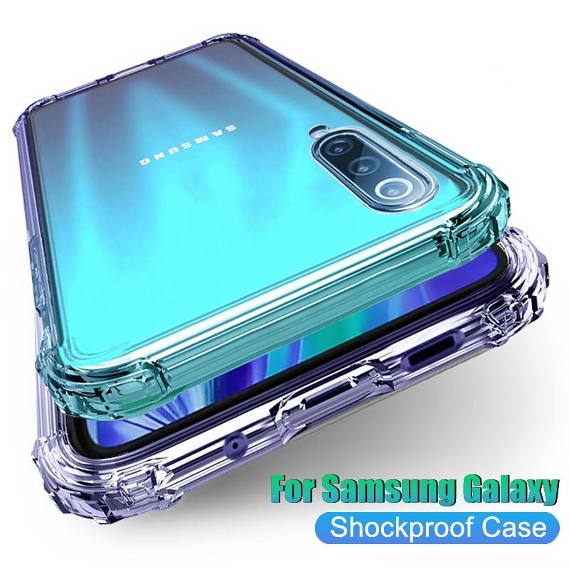 Luxury Shockproof Clear Phone Case For Samsung Galaxy Devices