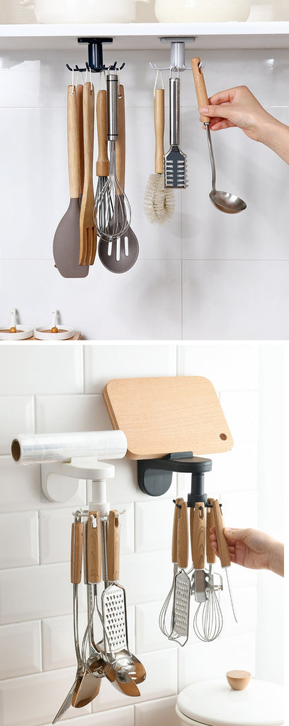360° Rotation Kitchen Storage Hook