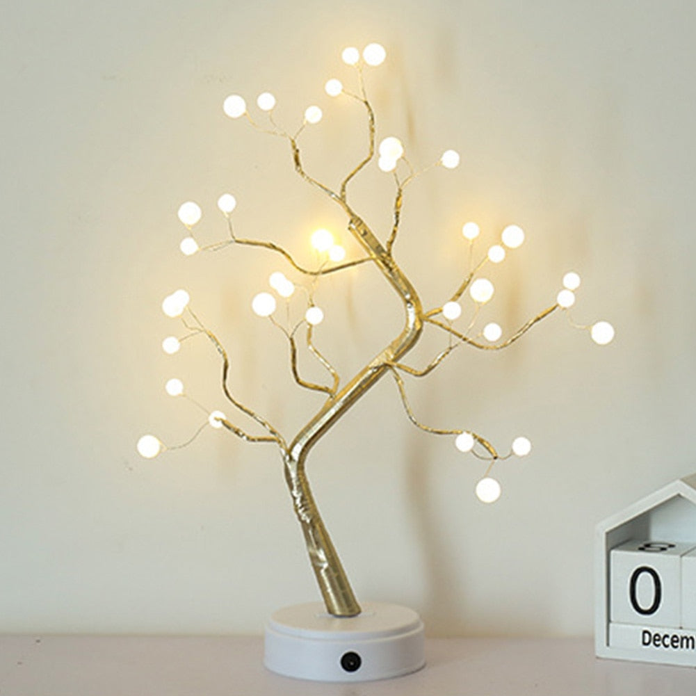 DIY Bonsai Style LED Tree Light