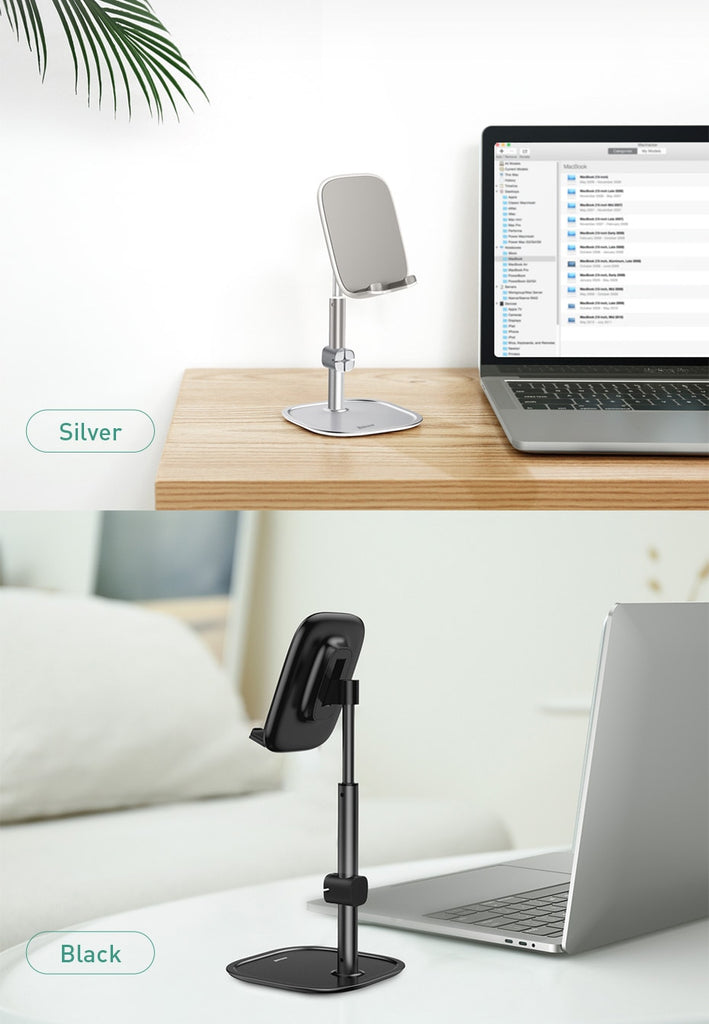 Baseus Adjustable Aluminum Tablet & Phone Desk Telescopic Stand Holder