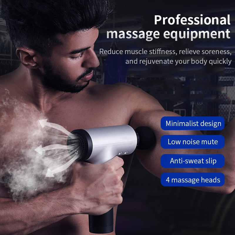 Muscle Pain Relief Electric Body Massage Gun