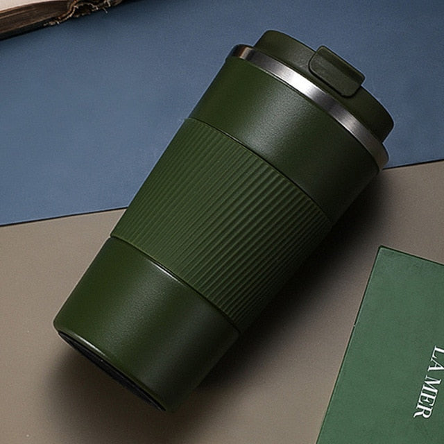 380ml/510ml Double Stainless Steel Coffee Thermos Mug