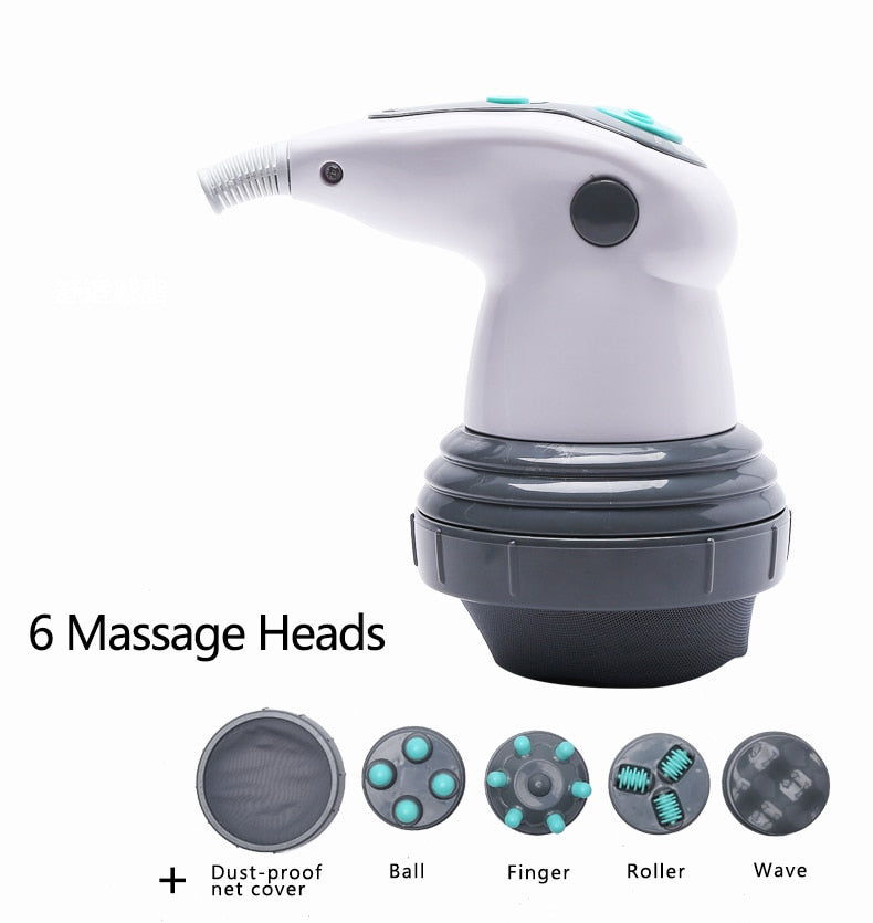 Anti Cellulite Electric Vibrating Roller Body Massager