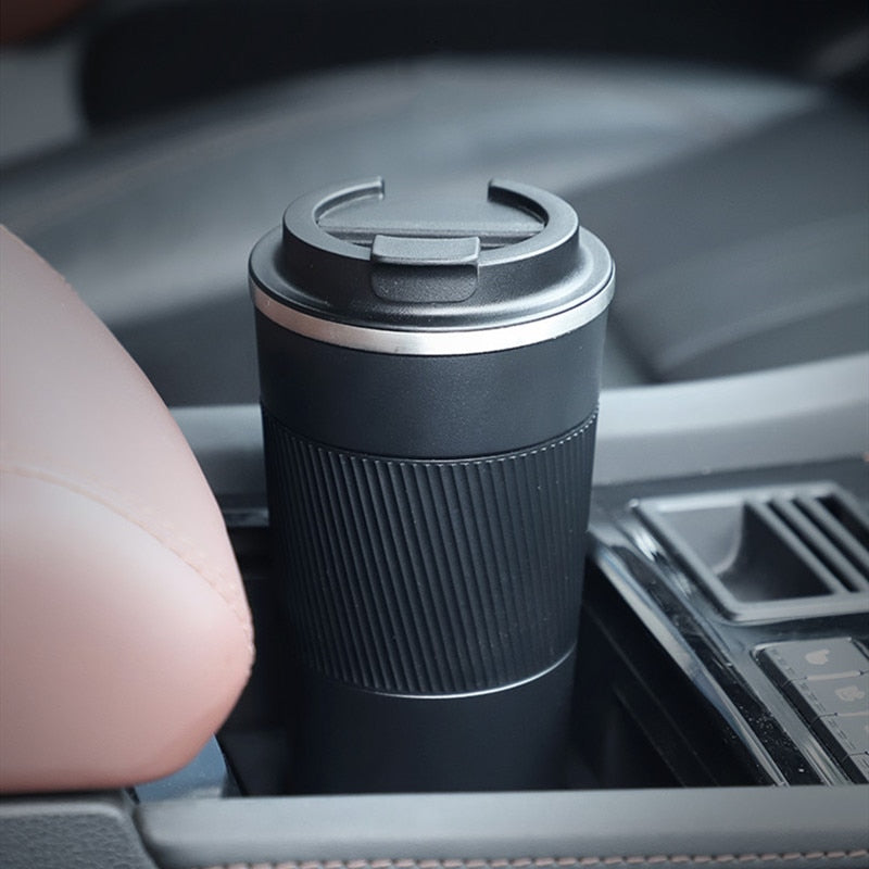 Car Vacuum Flask Travel Insulated Bottle