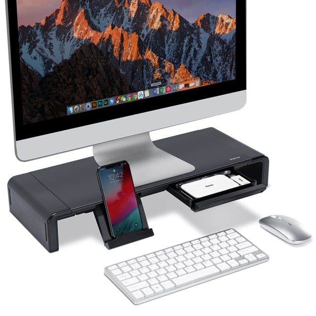 Universal Computer/PC & Laptop Stand Desk With Storage Box