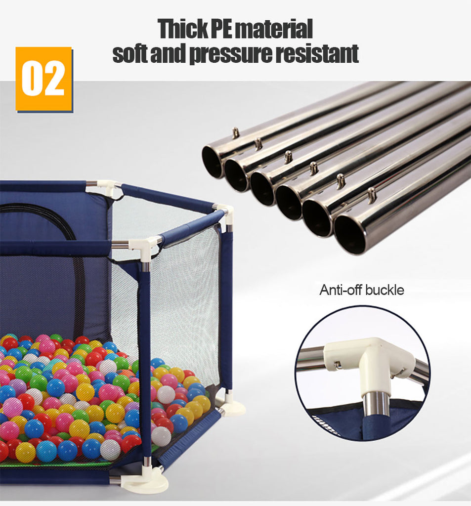 Ball Furniture Playpen For Kids