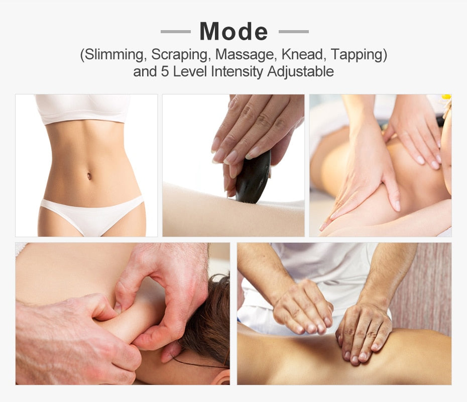 3 In 1 EMS Body Massager Ultrasonic Cavitation Slimming Machine
