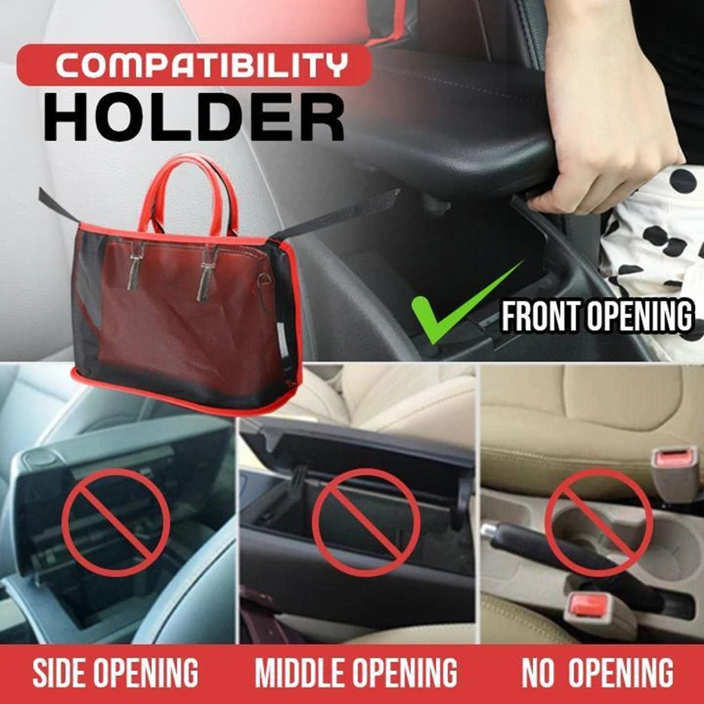 Universal Car Net Pocket Handbag Holder