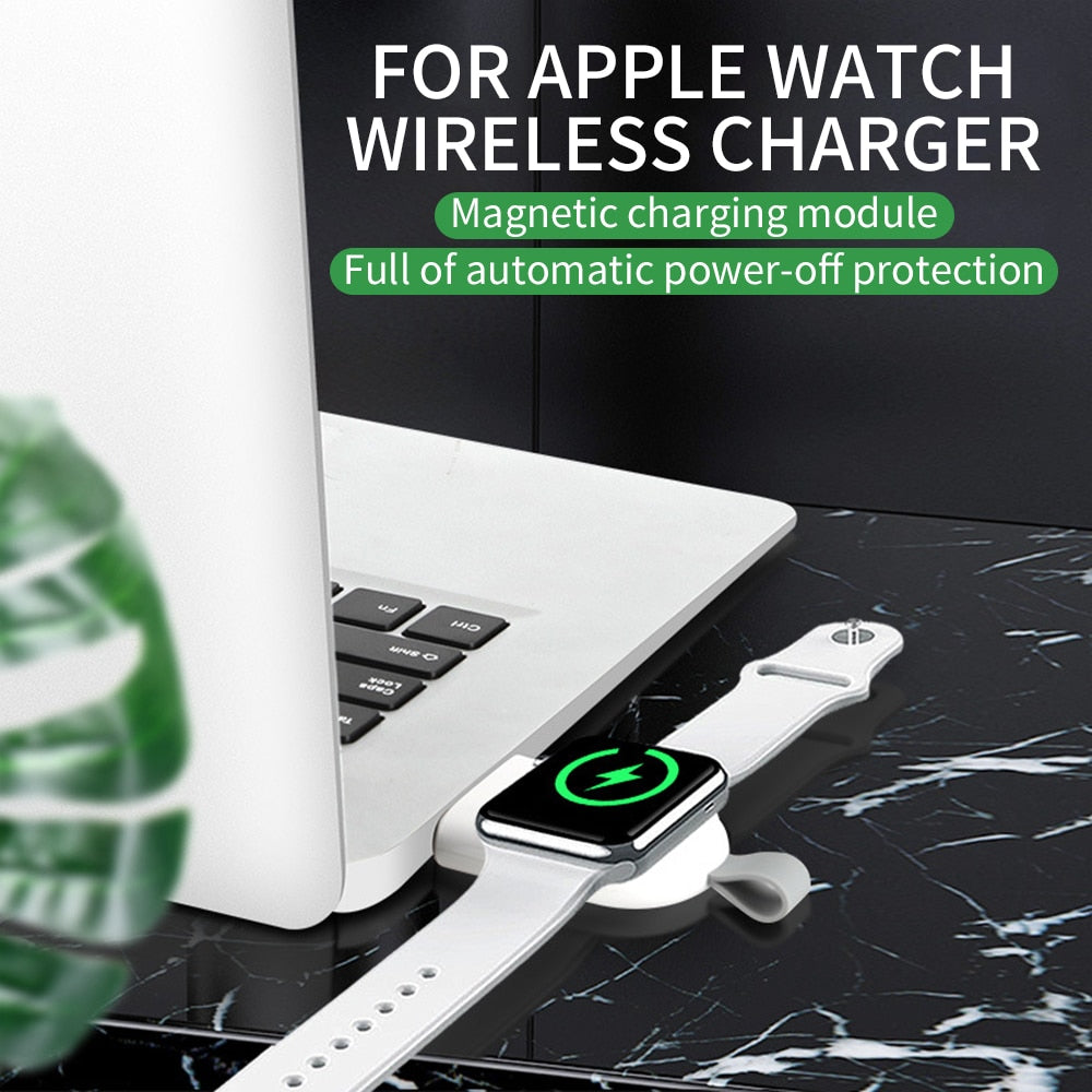 Portable Mini Wireless Charger For Apple iWatch