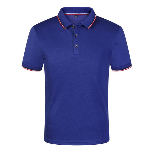 Breathable Anti-Pilling Short Sleeve Polo Shirt For Men