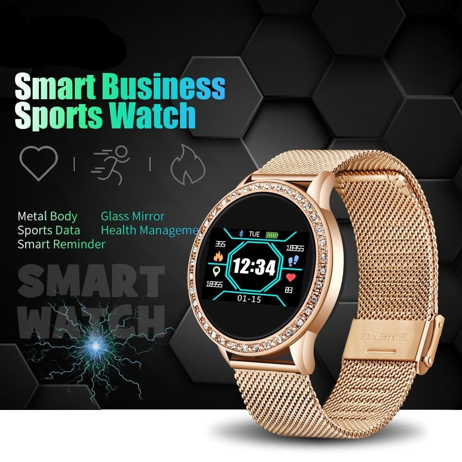 Luxury Brand Unisex Multi-function Sports Smart Watch