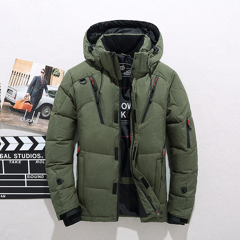 warm men down jacken, thick men jacket