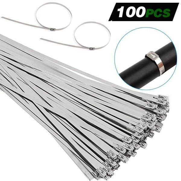 Multi-Purpose Stainless Steel Cable Twist Ties