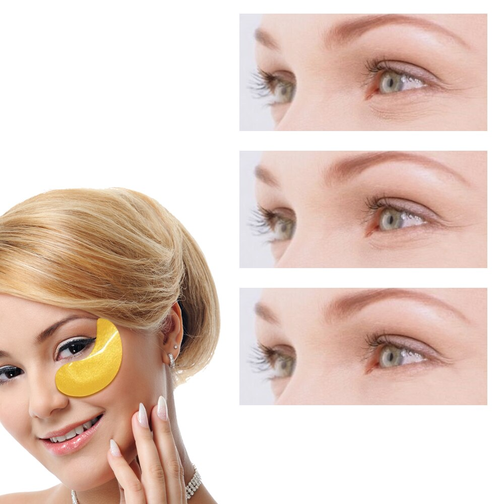 Anti-Wrinkle & Remove Dark Circles Hyaluronic Acid Eye Patches