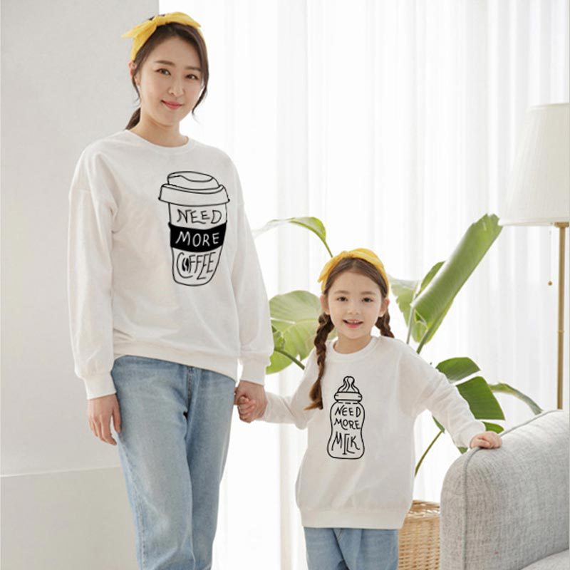 Funny Need More Milk Family Matching Sweatshirt