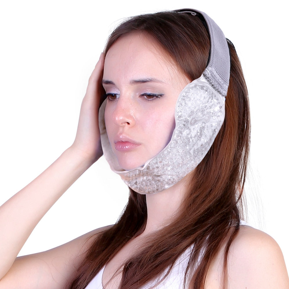 Adjustable Cold & Hot Therapy Migraine Ice Pack For Headache Pain Relief
