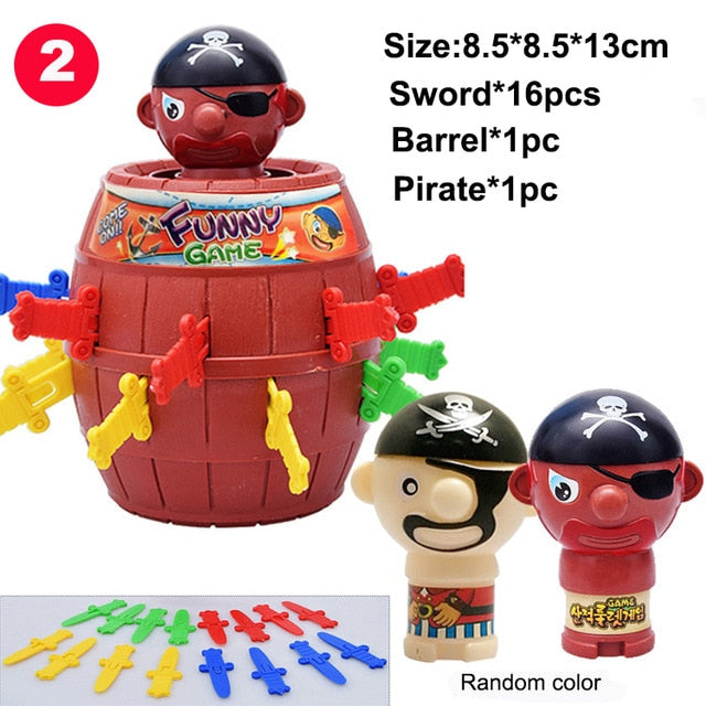 Funny Tricky Pirate Barrel Game