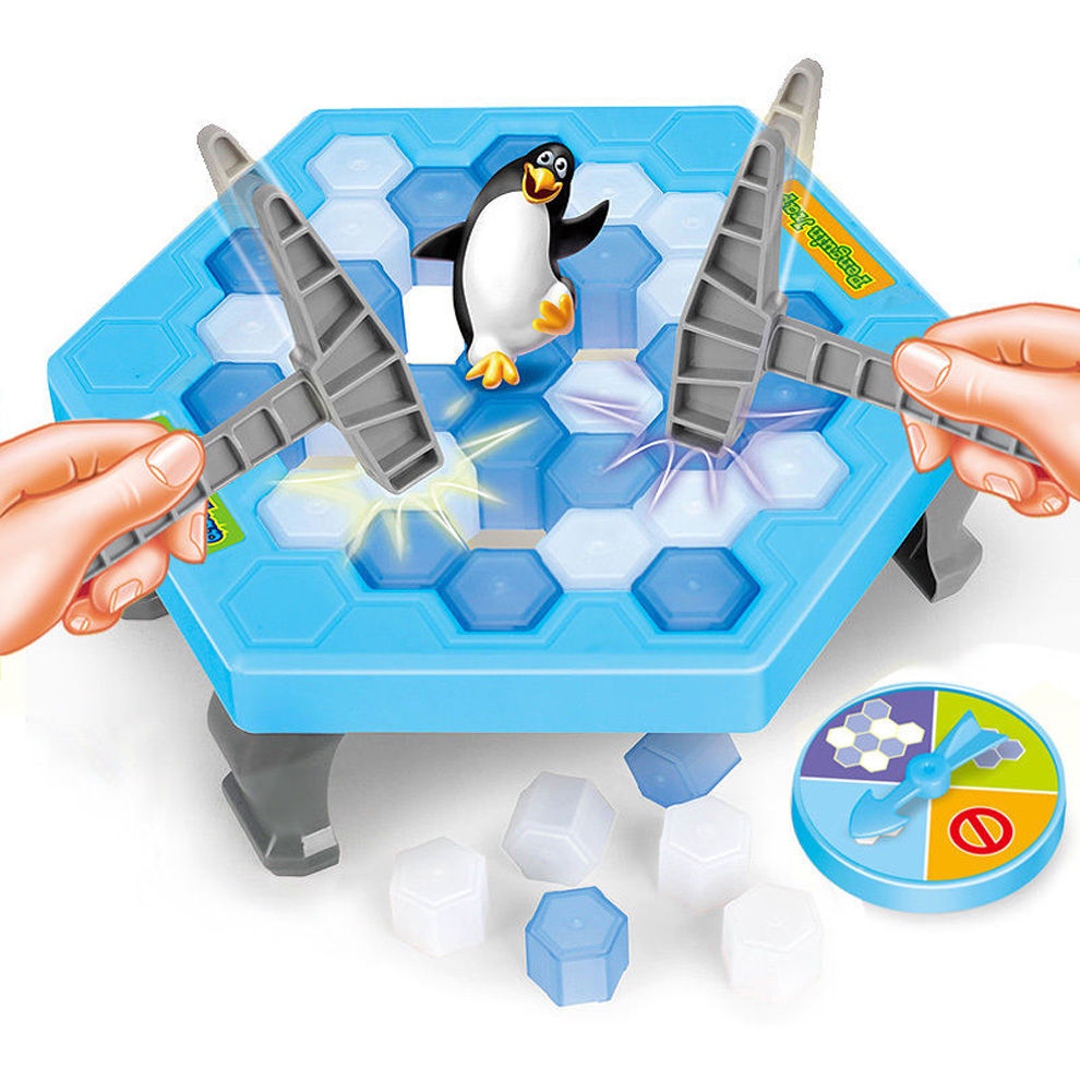 Funny Ice Breaking Penguin Trap