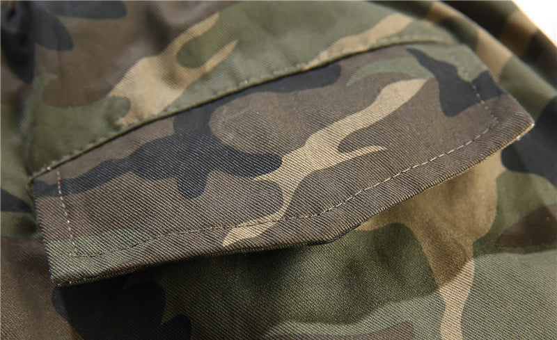 Multi-Pocket Camouflage Men Cargo Pant