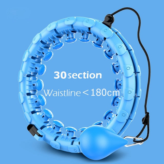 Smart Sports Hoop With Detachable Adjustable Auto-Spinning