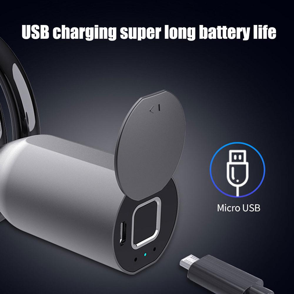 USB Charging Keyless Fingerprint Motorcycle & Bike Lock