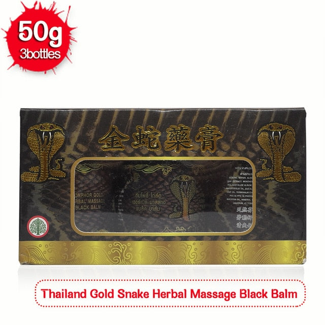 Joint Pain Relief Original Thailand Golden Snake Tiger Balm Ointment