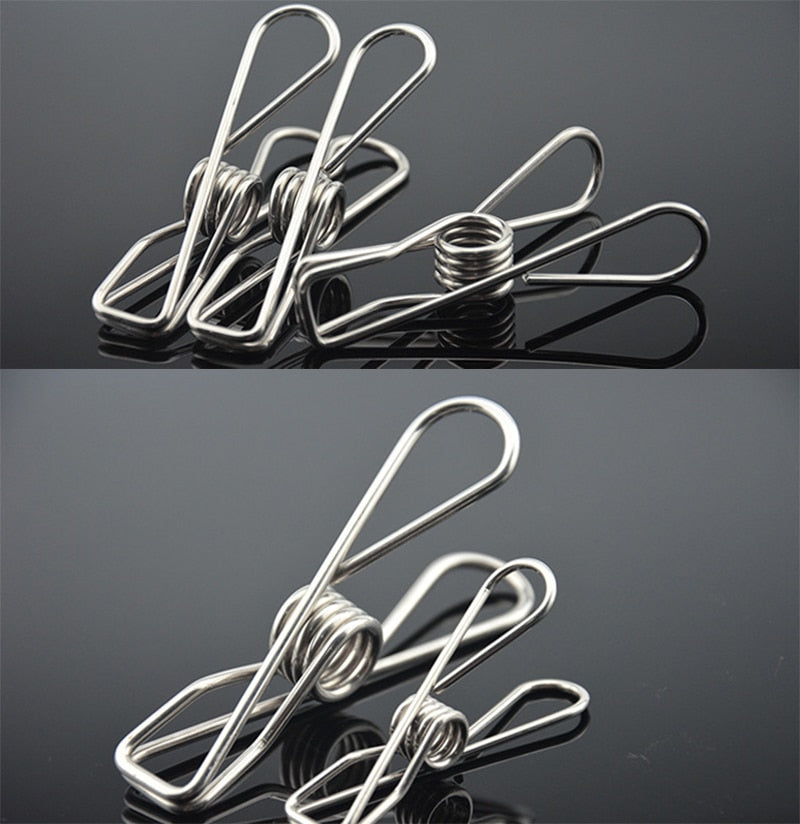 Multi-Purpose Stainless Steel Clothes Pins