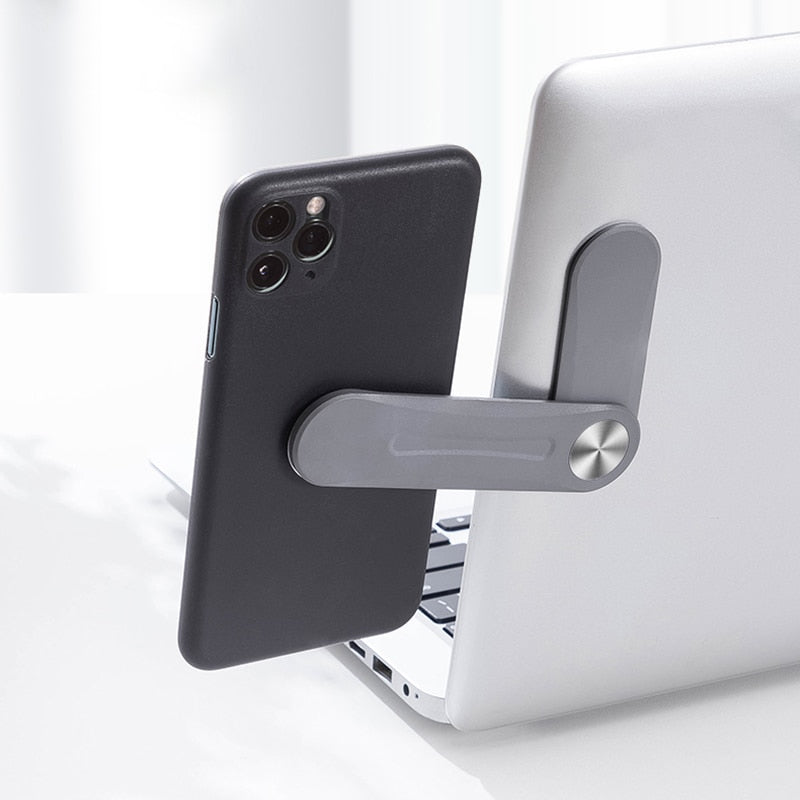 Adjustable Laptop Side Mount Phone Holder