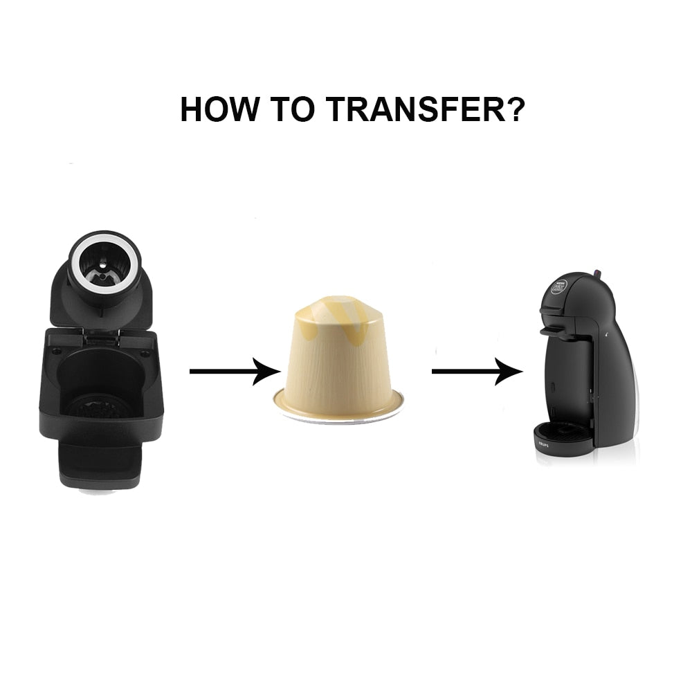 Multifunction Reusable Dolce Gusto Adapter For Nespresso Capsule
