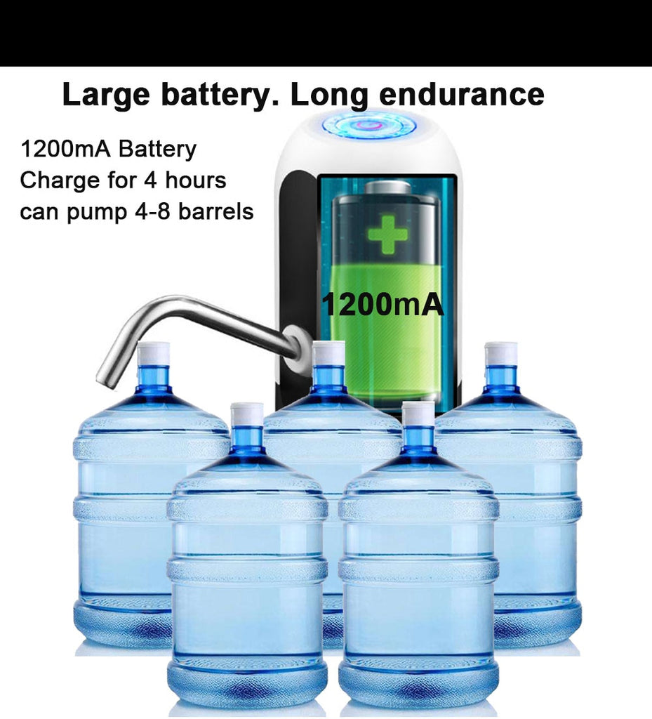 Portable Electric Automatic Water Dispenser Bottle Pump