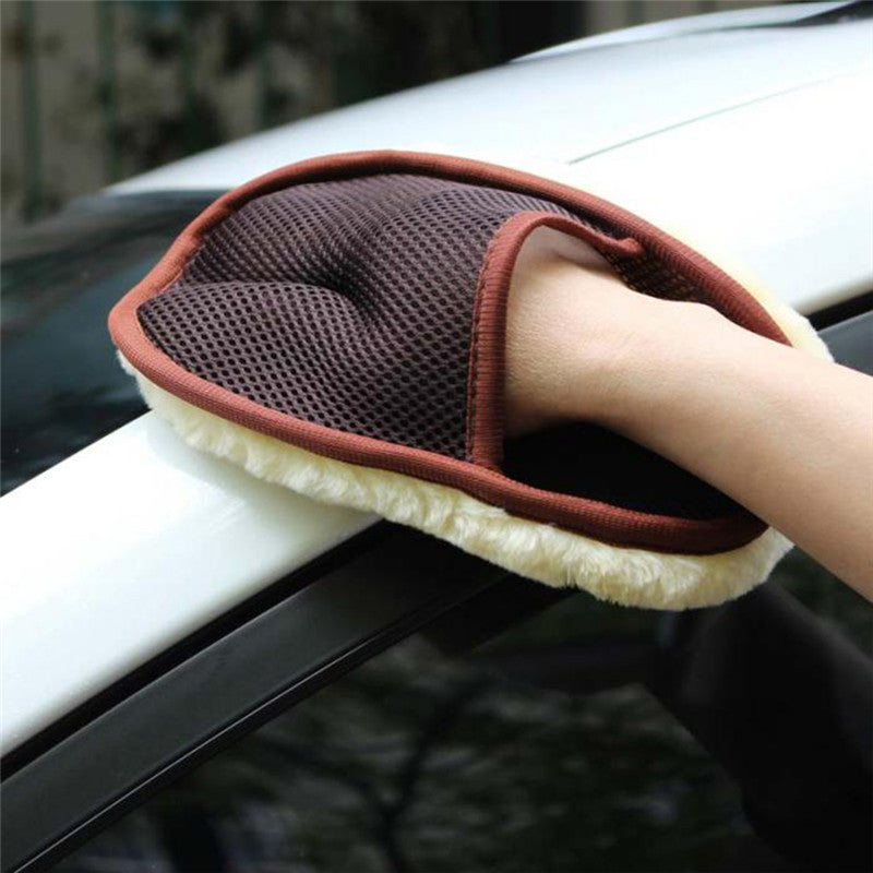 Soft Wool Car Styling & Washing Gloves