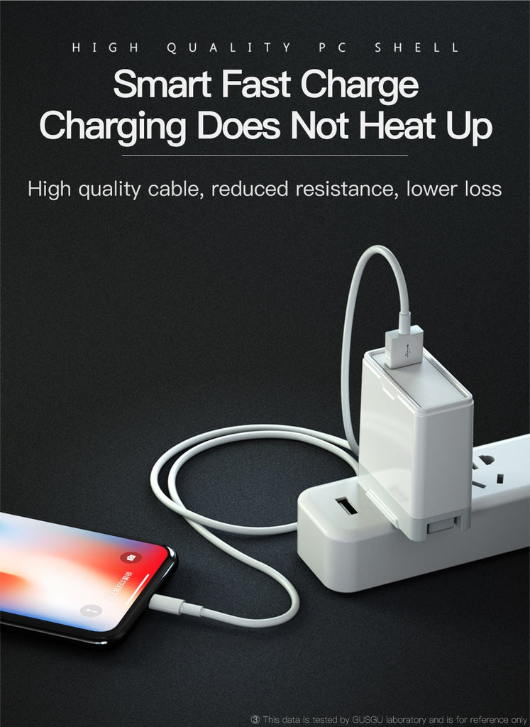 Fast Charger Data USB Cable for iPhone Devices