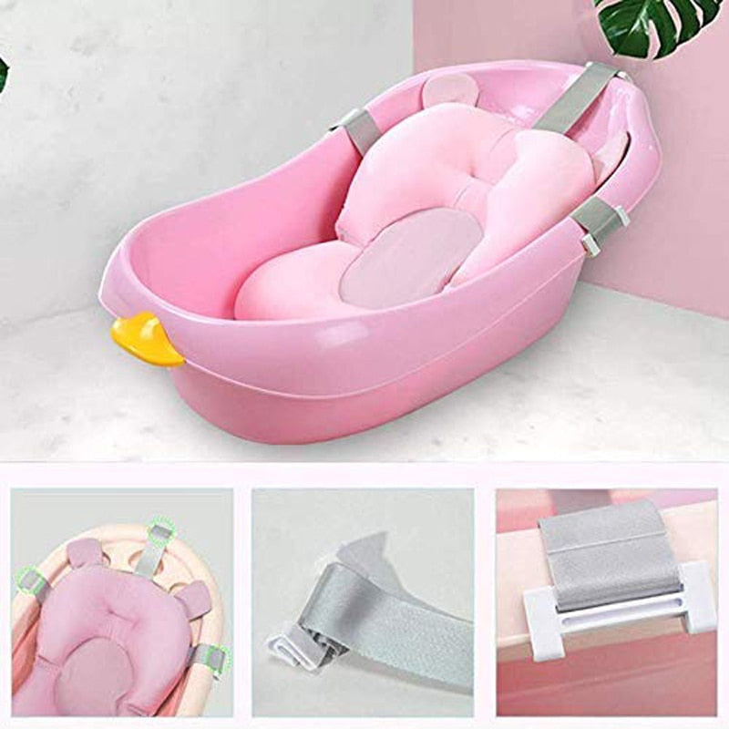 Foldable Non-Slip Soft Safety Baby Bath Cushion