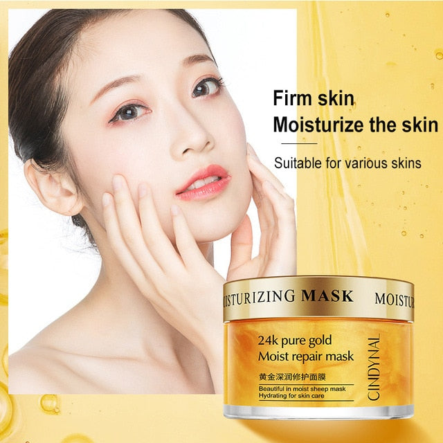 Hyaluronic Acid Serum Aloe Extract Deep Moisturizing Sleeping Face Cream