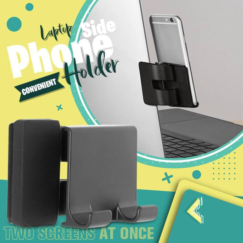 Portable Laptop Side Phone Convenient Holder