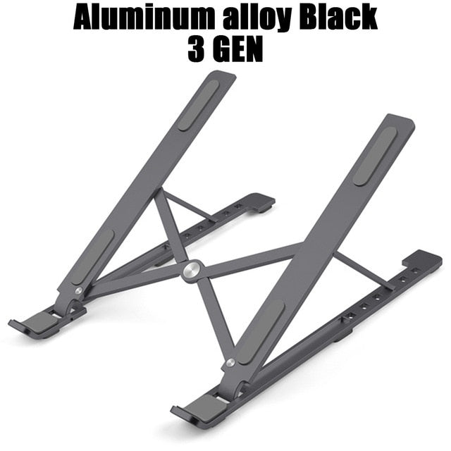 Universal Ergonomic Foldable Aluminium Alloy Laptop Stand