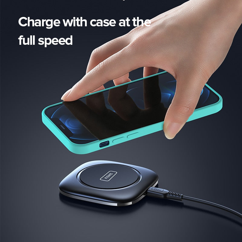 Universal USB C Fast Charging Qi Wireless Pad