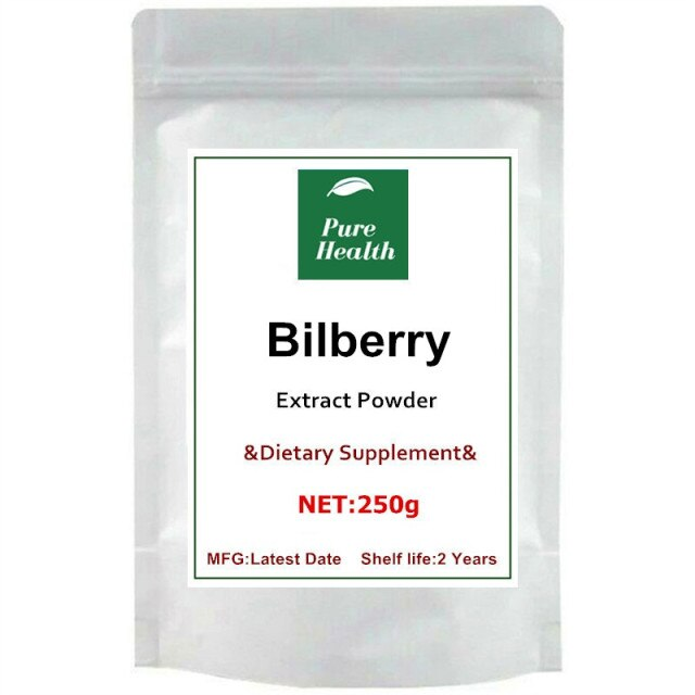 Stronger Antioxidant Anthocyanin 25:1 Bilberry Fruit Extract Powder