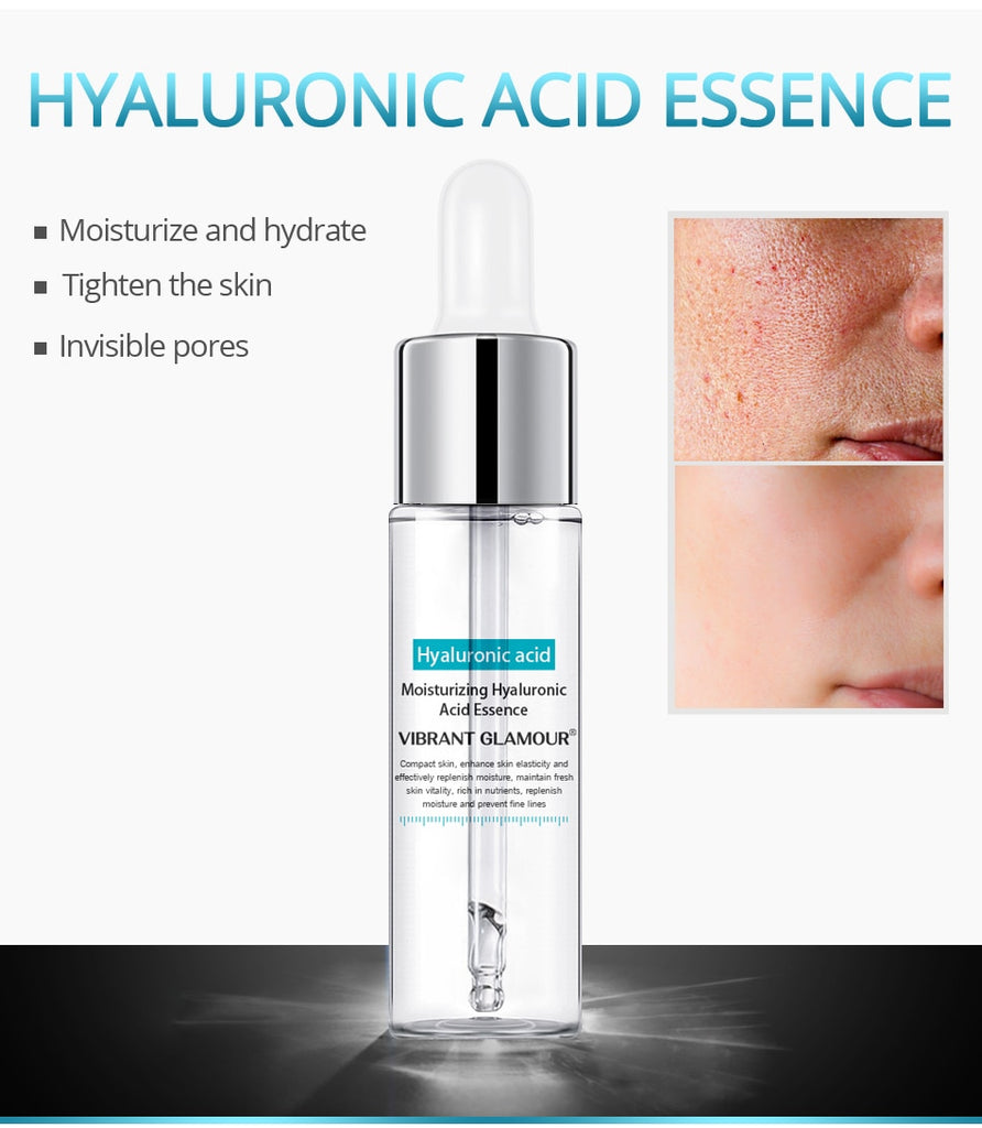 Anti-Aging & Shrink Pore Whitening Hyaluronic Acid Moisturizing Face Serum