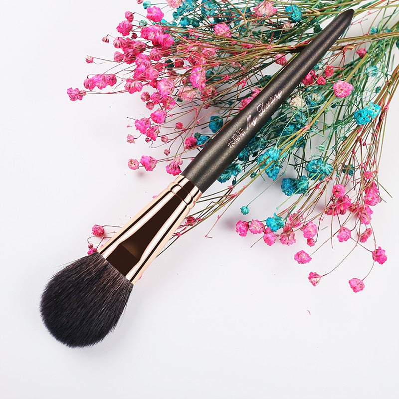Goat Hair Round Blush Make Up Brush