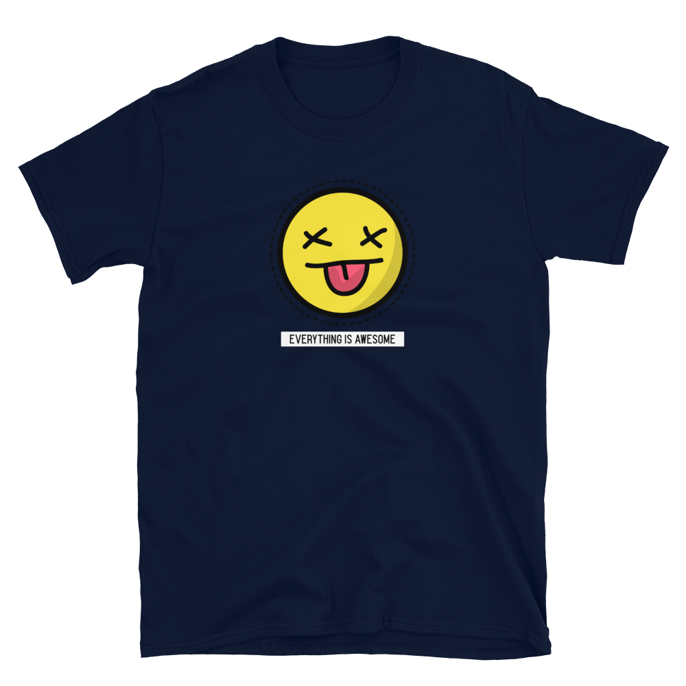 Everything Is Awesome Dead Emoji Unisex T-Shirt