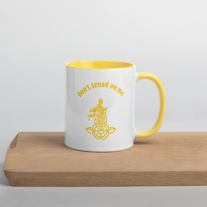 Don't Tread On Me Mug with Color Inside