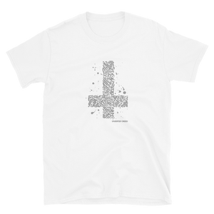 Inverted Cross Short-Sleeve Unisex T-Shirt