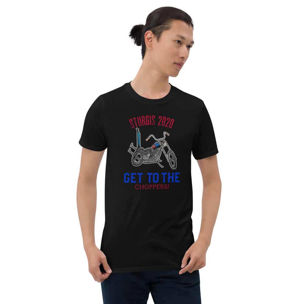 Sturgis 80th anniversary get to the Choppers Short-Sleeve Unisex T-Shirt