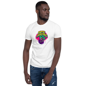 Awful Joking Horror Clown Short-Sleeve Unisex T-Shirt