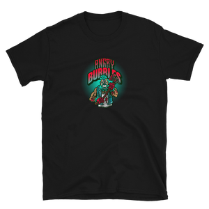 Angry Bubbles the killer clown Short-Sleeve Unisex T-Shirt