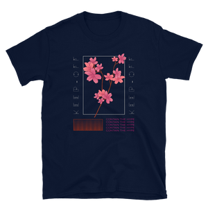 Keep Off Japanese Style Blossom Unisex T-Shirt