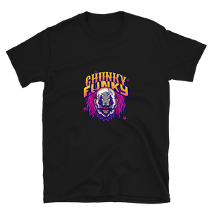 Chunky Funky the killer clown Short-Sleeve Unisex T-Shirt