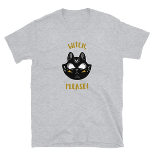 Witch Please Magic Cat Short-Sleeve Unisex T-Shirt