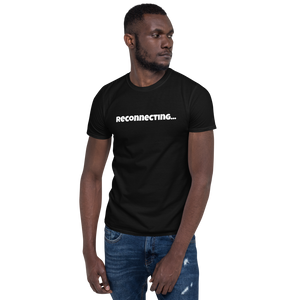 Reconnecting Short-Sleeve Unisex T-Shirt in dark colors